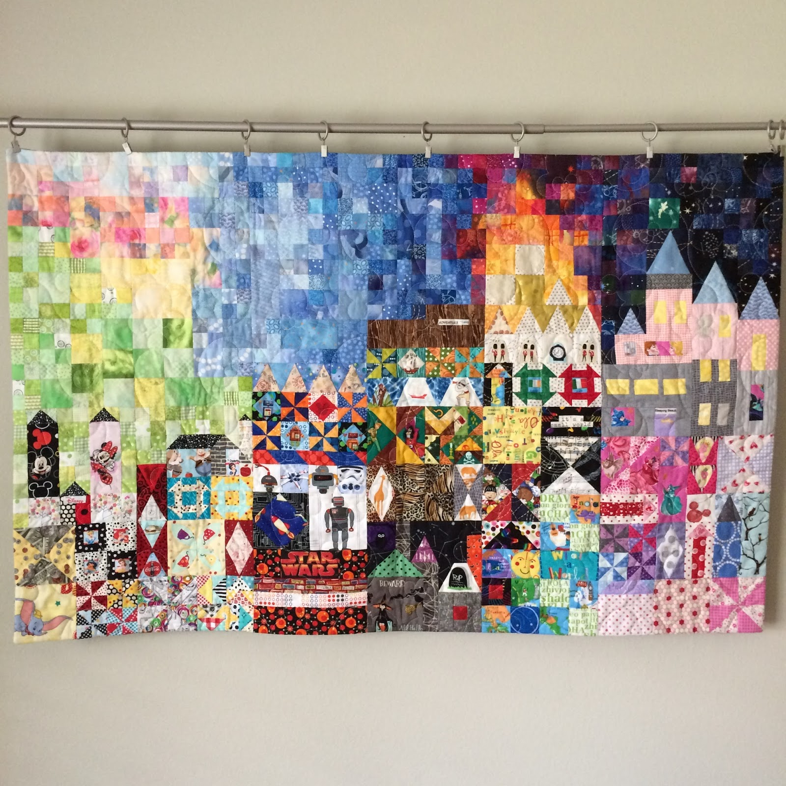 Live a Colorful Life: My Small World: The Disney Version : disney quilts - Adamdwight.com