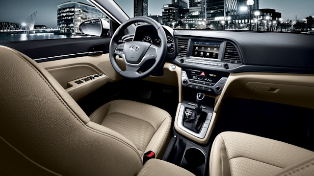Novo Hyundai Elantra 2016 - interior