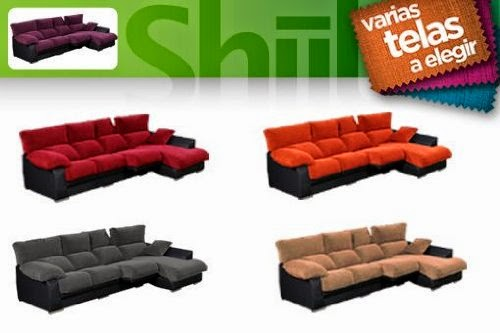 Comprar sof con chaise longue a ofertas sofas chaise for Sofas abatibles baratos