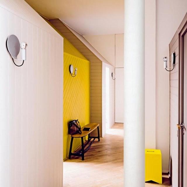7 bonnes id es d co pour am nager l 39 entr e de la maison ou du couloir - Couleur couloir appartement ...