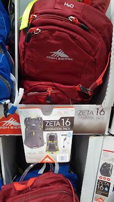 High Sierra Zeta 16L Hydration Pack for school, work, or hiking