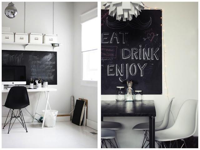 Pizarra para decorar tu hogar