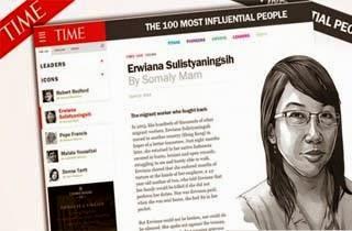 Seorang TKI Masuk 100 Orang Berpengaruh Dunia TIME