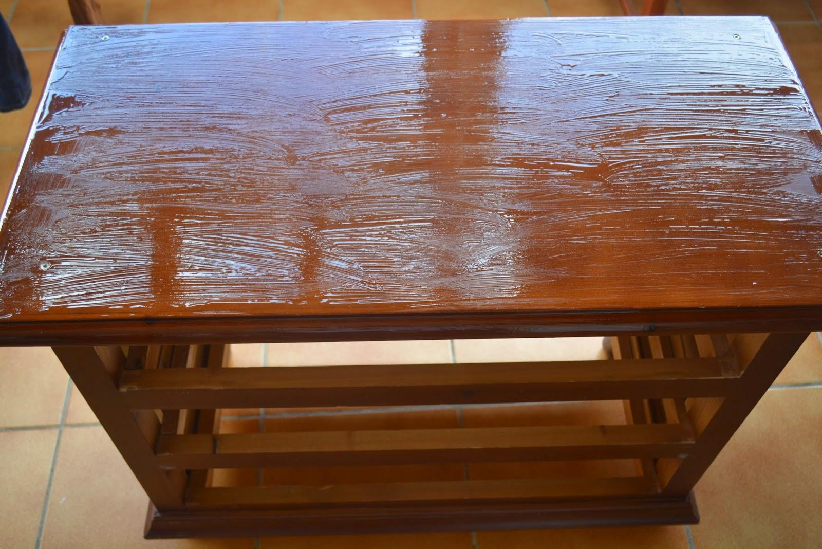 MERMELADA DE TOMATE Mueble restaurado