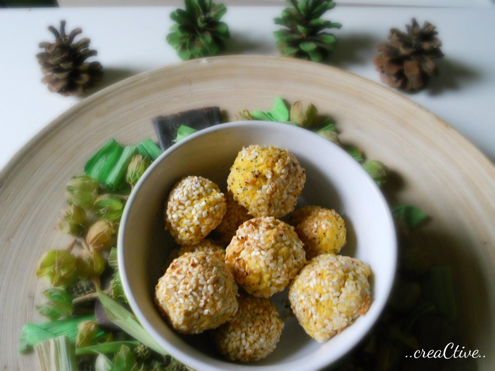 Small polenta balls, to spice up the party of yours | Aleksandra Birta