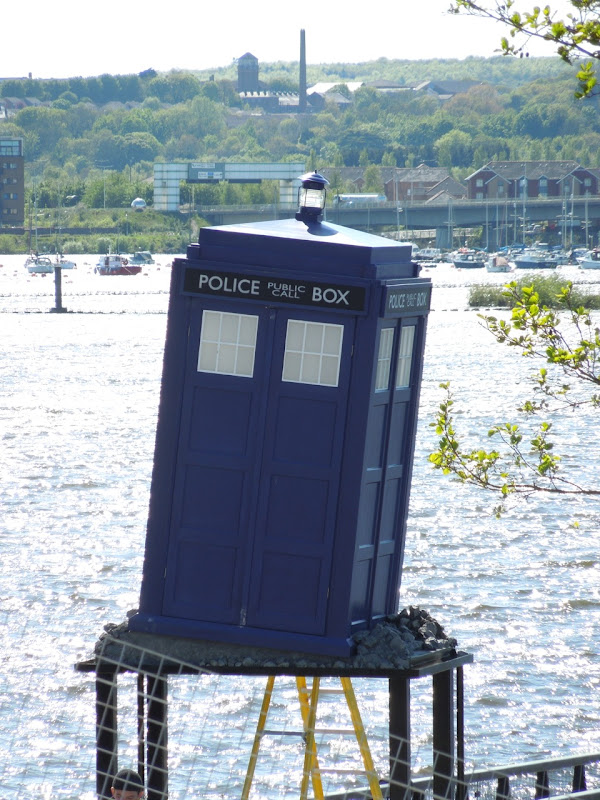 Doctor Who TARDIS Cardiff Bay