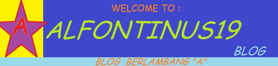 Alfontinus19 Blog