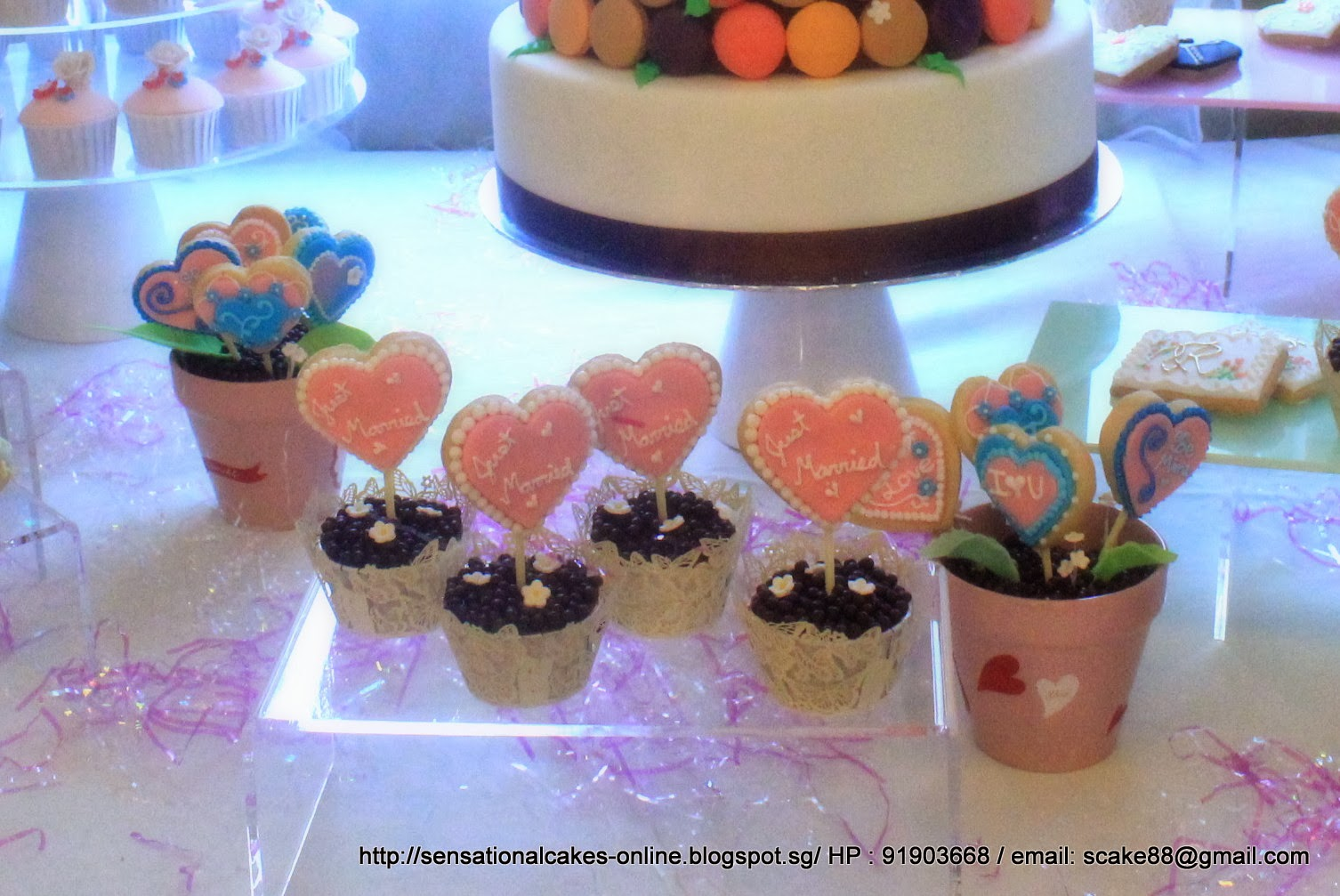 Gmail panda theme - Rainbow Theme Wedding Cake Dessert Table Singapore Filled With Cake Pops Cookies Macarons Tower Tier Cake Hearts Size Cookies And Many More