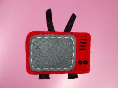 television fieltro