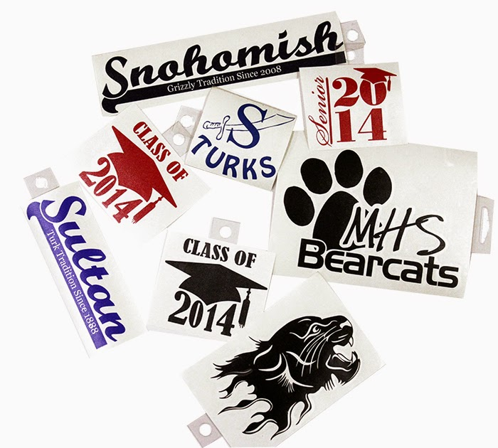 School Spirit Vinyl Graphics