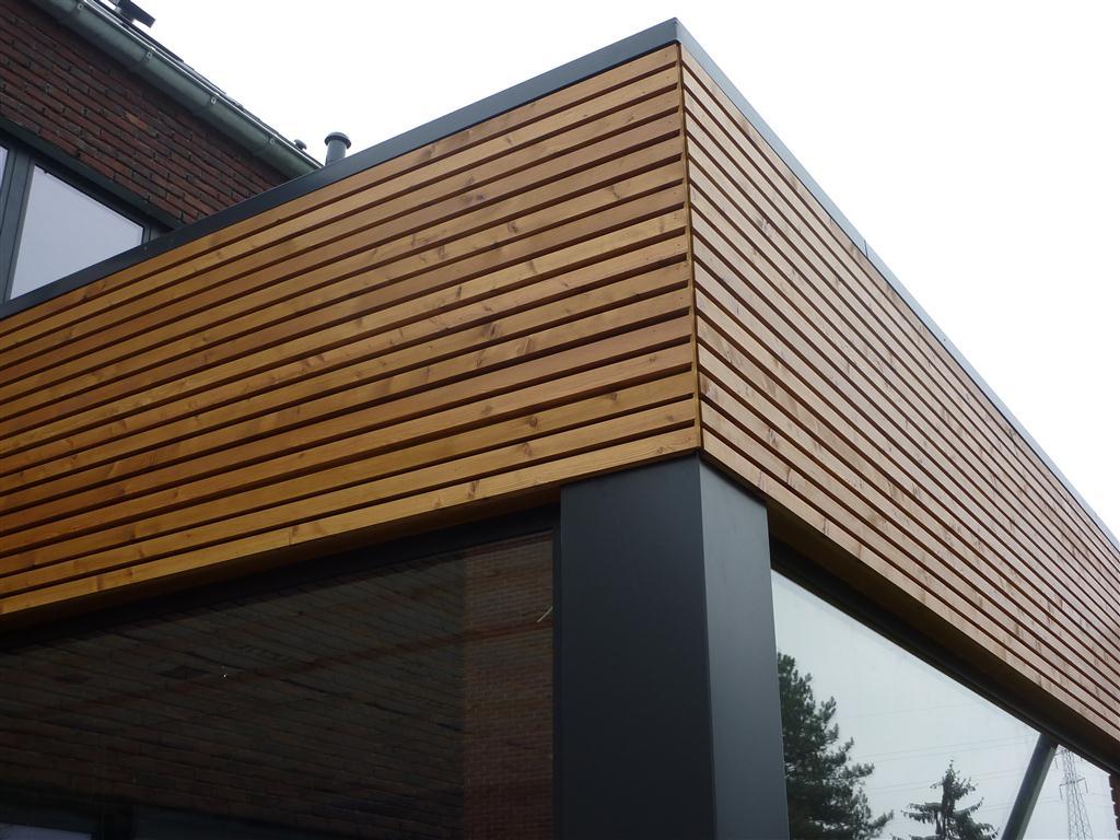 Wyneeters houten gevelbekleding - Latwerk houten ...