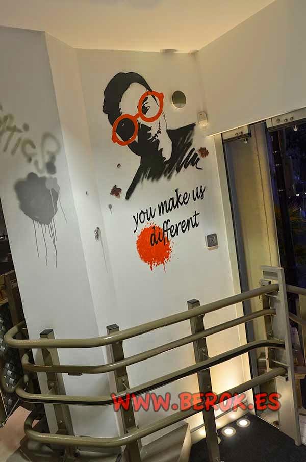 Diseño de interiorismo de óptica de Barcelona