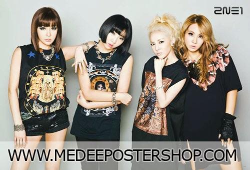2NE1 Falling in Love Poster