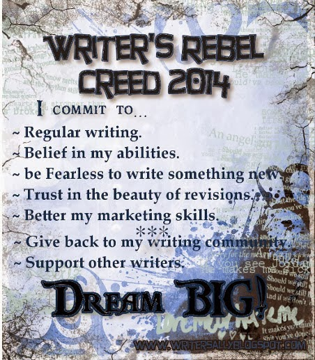 Writer's Rebel Creed 2014