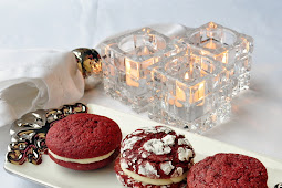 Red Velvet Cream Cheese Cookies