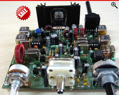 kit iler 40 ea7GCY EGV40 transceivers hamradios radioamateurs electronics