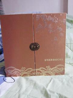 Starbucks coffee Chinese Spring Festival mooncake tumbler presentation gift pack box set lot