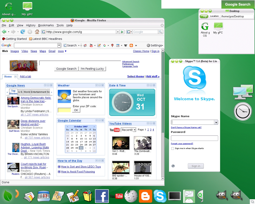 Android: Chrome OS