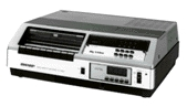 Sharp VC-6080 elöltöltős videomagnó