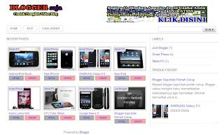 template videoblog modifikasi tukang toko online