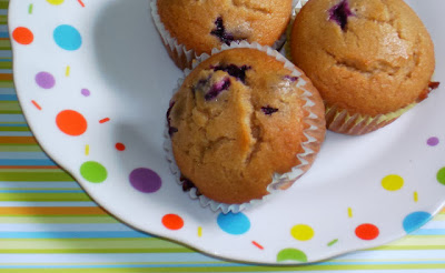 Blueberry Cream Muffins   http://www.momsreview4you.com