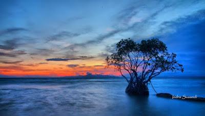 Pulau Tunda yang indah
