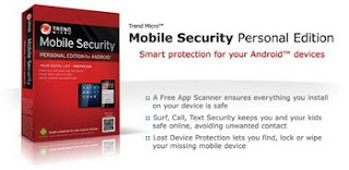 Trend Micro Mobile Security Personal Edition released for Android