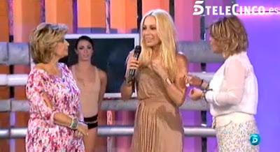 María Teresa y Terelu Campos con Marta Sánchez en QTTF