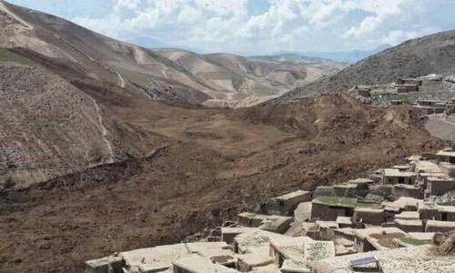 2.500 PERSONAS PUEDEN HABER MUERTO EN DESLIZAMIENTOS DE TIERRA EN AFGANISTAN, 02 DE MAYO 2014