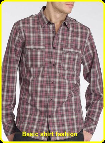 Basic shirt fashion