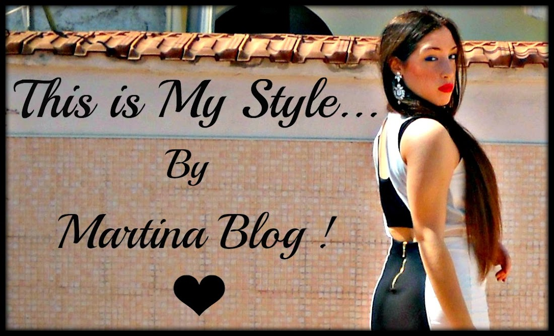 This is My Style .. By Martina Blog