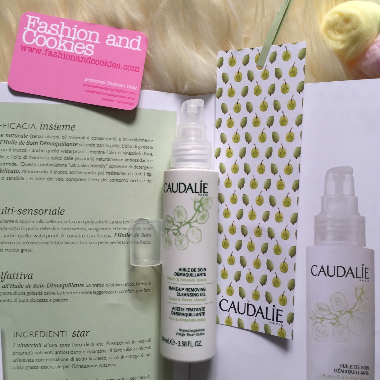 Caudalie Huile de Soin Démaquillante Oilo struccante trattante recensione, review on Fashion and Cookies fashion and beauty blog