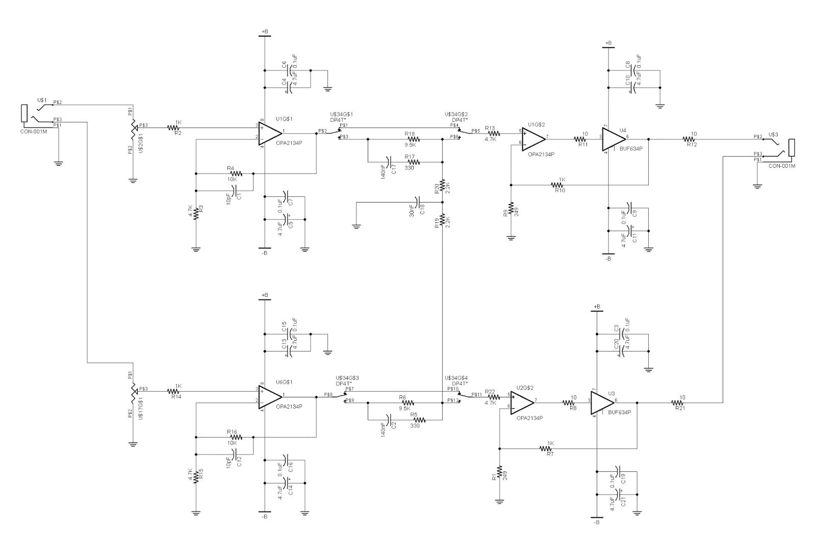 Burr Brown Amp Schematic House Wiring Diagram Symbols Op Headphone Tony S Electronics Projects Rh Af6ea Blogspot Com Crate Schematics Bass