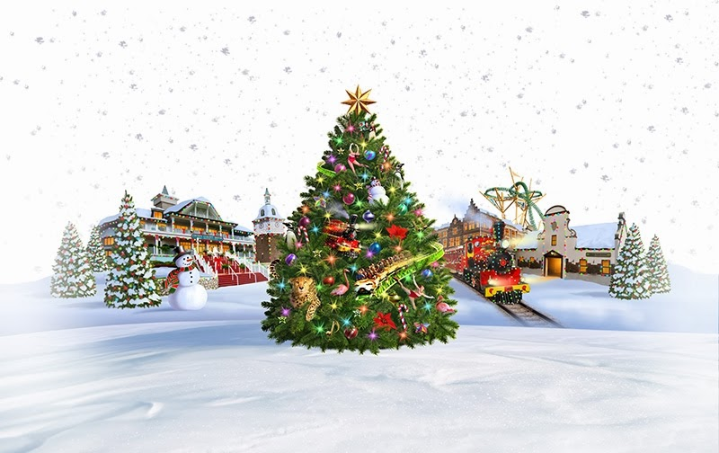 Christmas Town Transforms Busch Gardens This Holiday Season