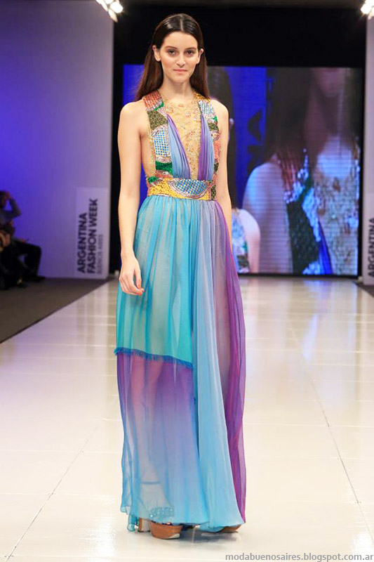 Vestidos de fiesta  2015. Benito Fernandez primavera verano 2015 moda.