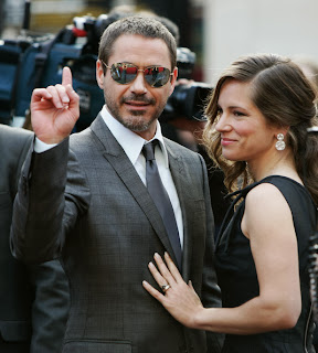 Robert Downey Jr and Susan
