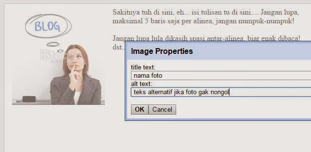 Cara Membuat Image (Gambar) Posting SEO Friendly