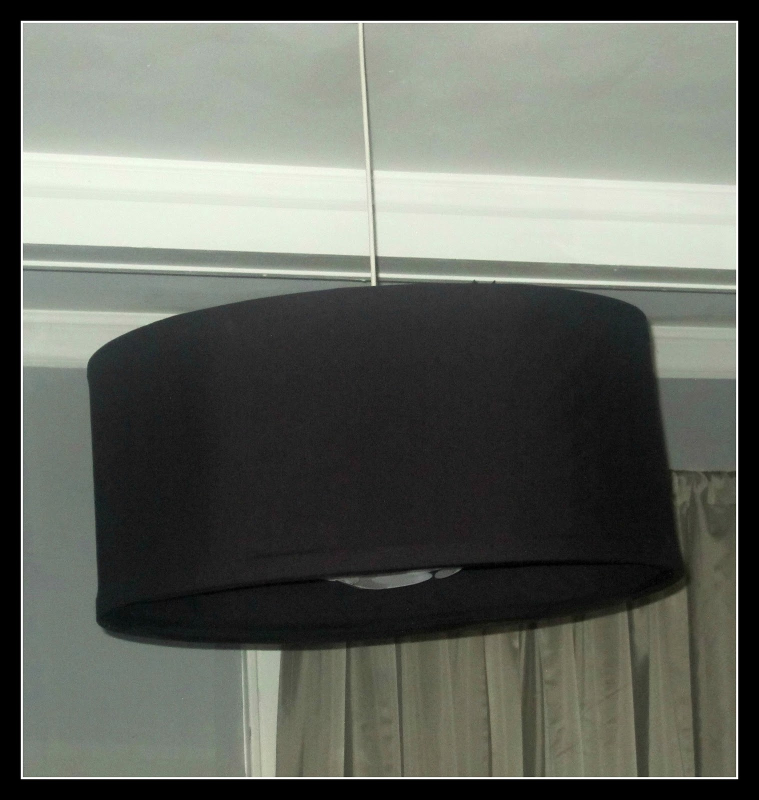 DIY Easy Peasy Drum Shade Chandelier