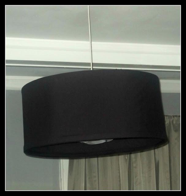 diy easy peasy drum shade chandelier
