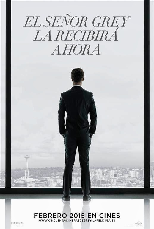 Primer cartel oficial de 'Cincuenta sombras de Grey'. MÁS CINE. Making Of