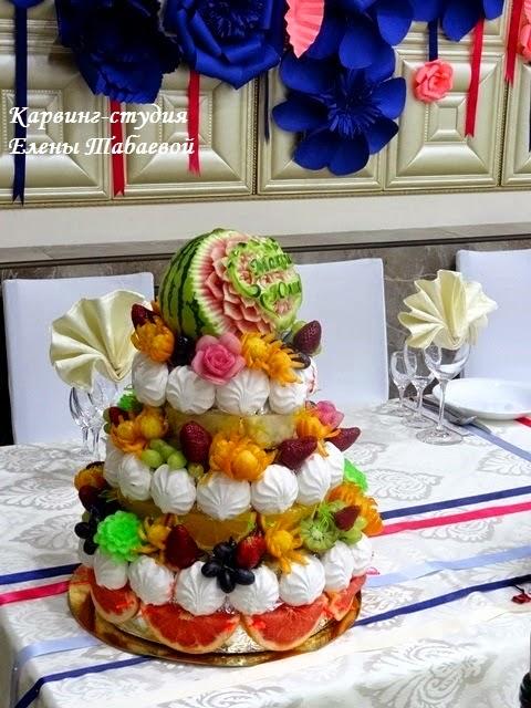 фруктовый торт на заказ южно-сахалинск