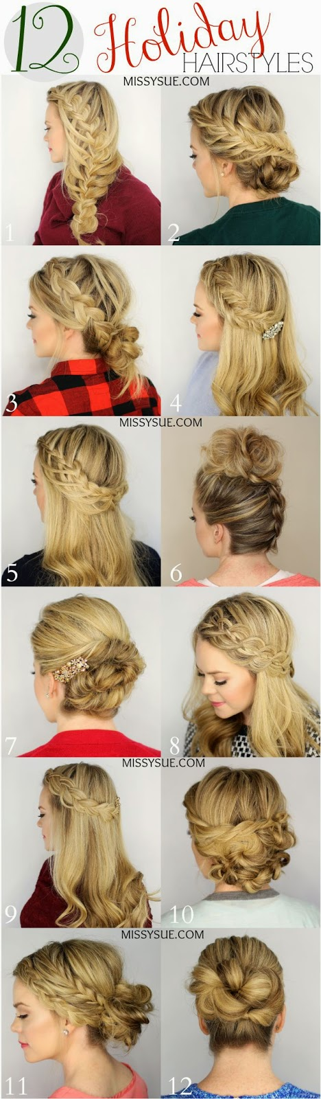 Hairstyles Holiday : Holiday Hairstyle - Fashion Style