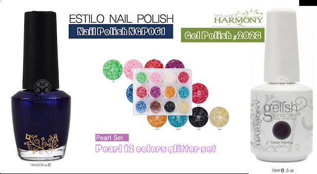 Aurora Pearl French Nail art Polish,Gel Polish
