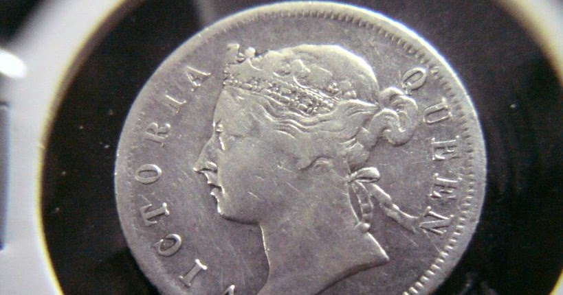 711collectionstore 1900 20 Cents Queen Victoria Straits