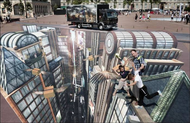 World's Largest 3D Art by Francois Abelane