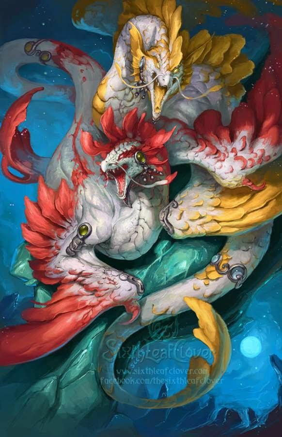 Zodiaco Dragon Signo Piscis