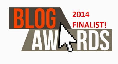Finalist of UK Blog Awards 2014