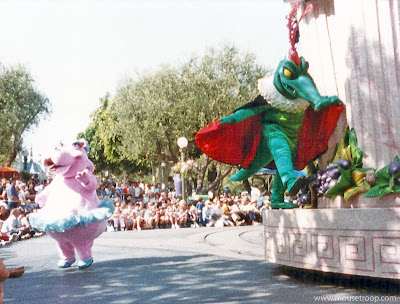 Disney Alligator Crocodile Fantasia Hippo Flights Parade Disneyland