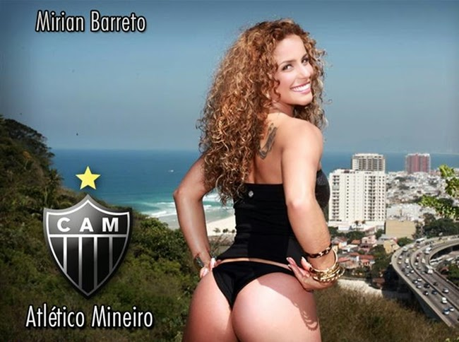 Mirian Barreto – Musa do Atlético-MG