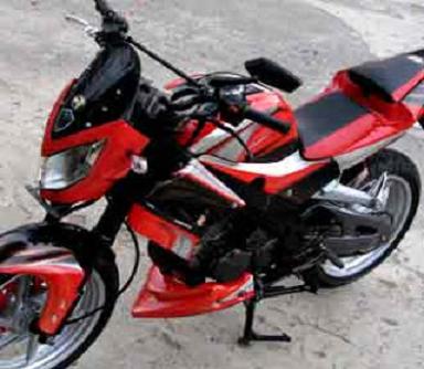 Modifikasi Motor Yamaha Scorpio